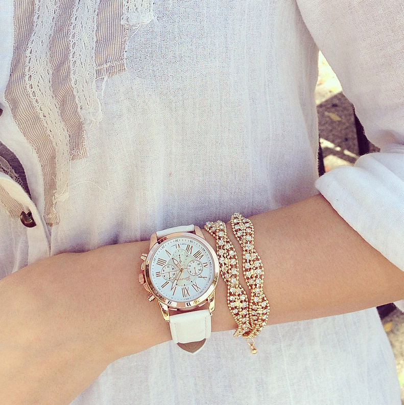 Dámske hodinky Geneva Platinum  e3013bb274