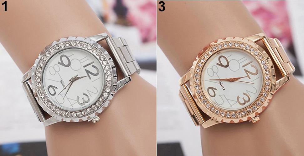 Dámske hodinky s krištáľmi empty 32c8f59fa89